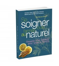 Livre Se soigner toute l'année au naturel - 19€