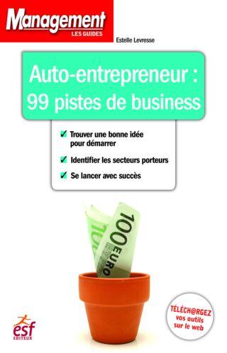 GUIDE MANAGEMENT - AUTO ENTREPRENEUR 99 PISTES DE BUSINESS