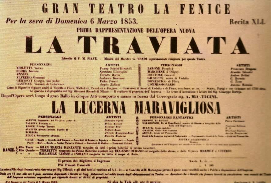 La Traviata, l'un des opéras les plus joués au monde