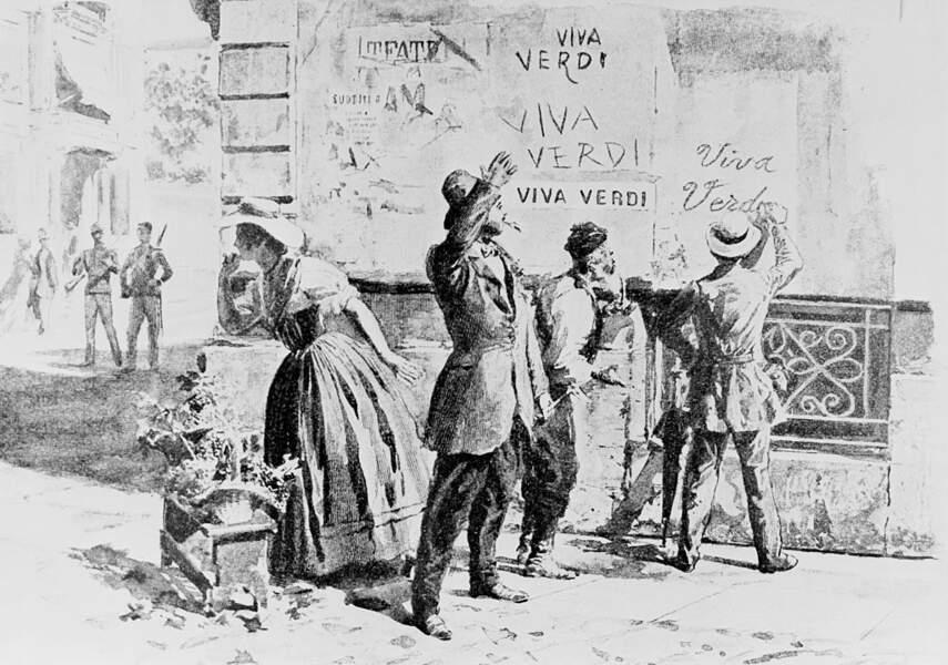 Verdi, un symbole du patriotisme italien