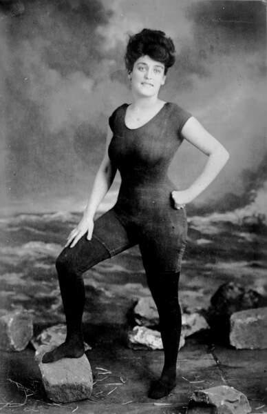 Annette Kellerman, la sirène en maillot de bain