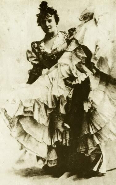 La Goulue, danseuse excentrique