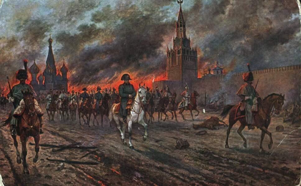5 Il a incendié Moscou