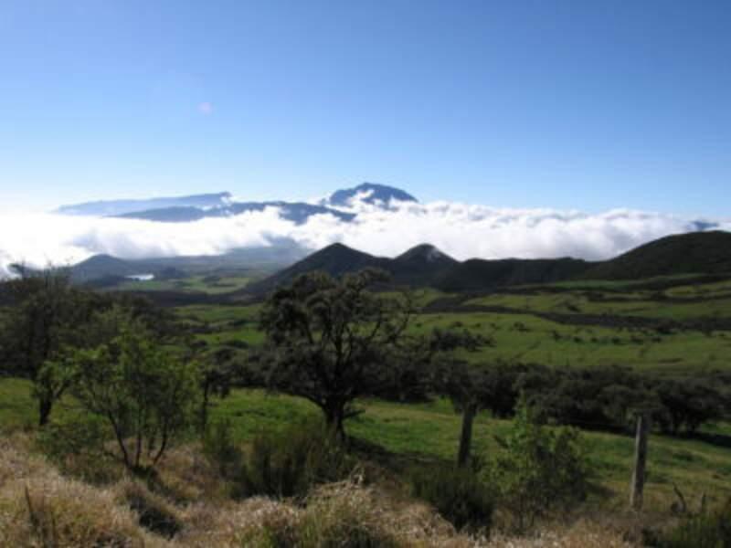 Les pitons de La Réunion