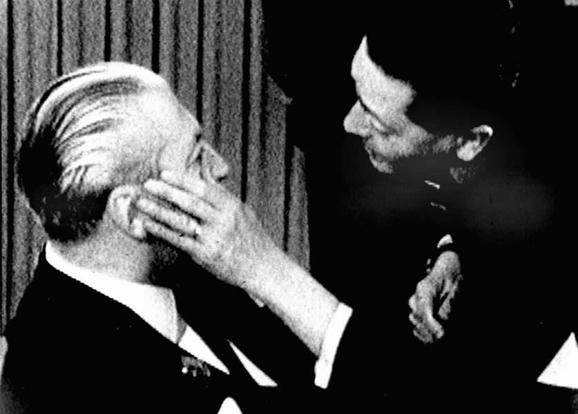 Beate Klarsfeld , la femme qui a frappé un Nazi