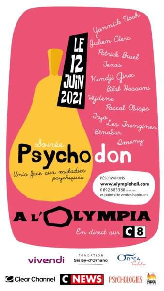 Soirée Psychodon : unis face aux maladies psychiques