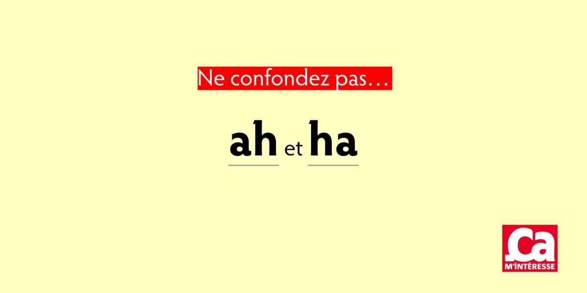 Ah et ha