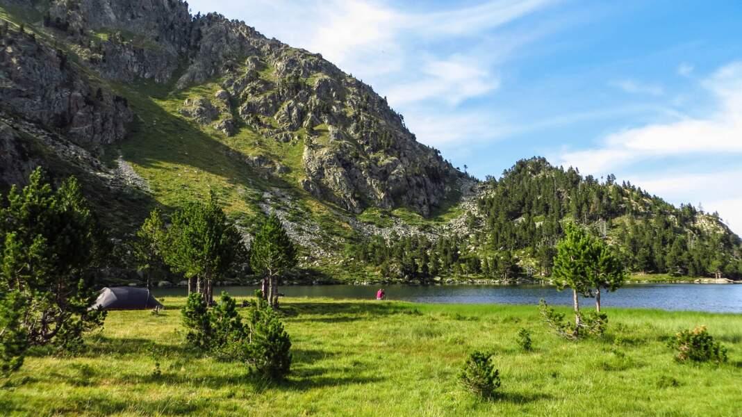 Promenade autour de l'étang de Laurenti