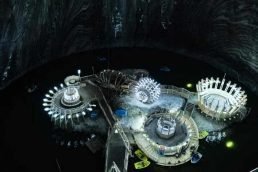 Turda, un parc d'attractions