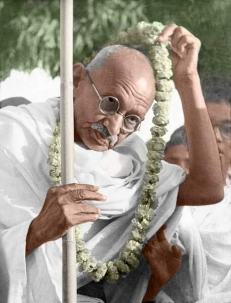 Gandhi, un saint homme