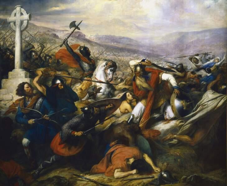 Charles Martel a stoppé les Arabes à Poitiers
