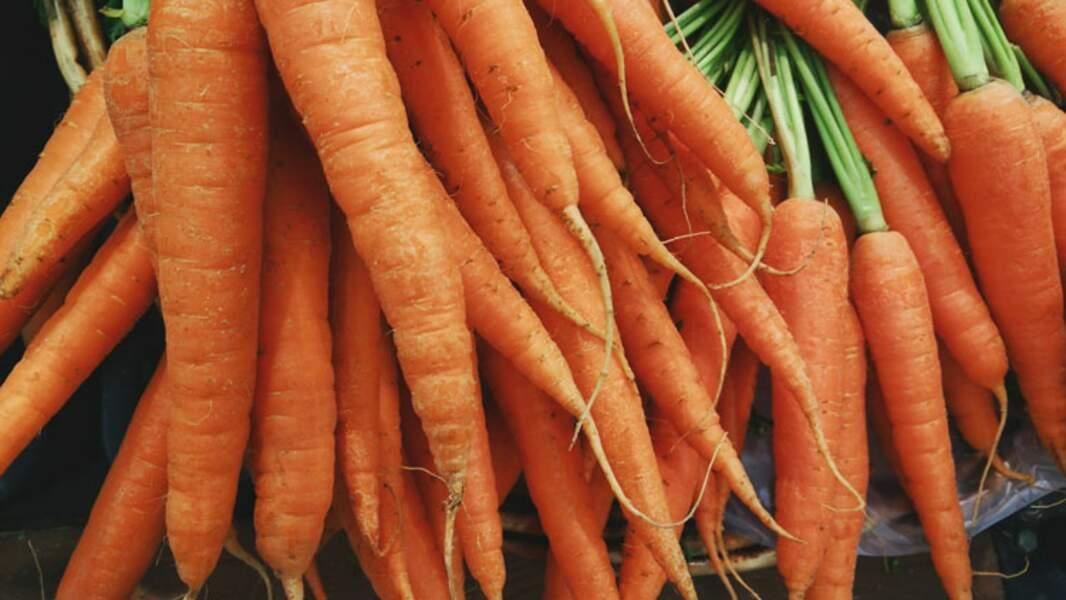 2. Les carottes stimulent le bronzage