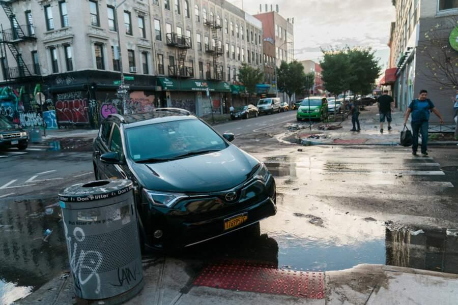 Brooklyn, au lendemain des pluies torrentielles