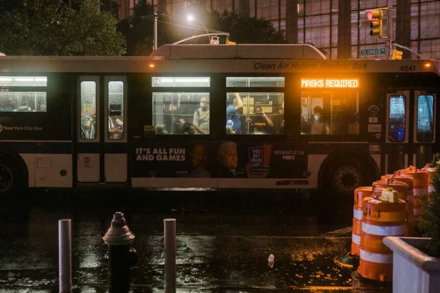 Les inondations à Manhattan