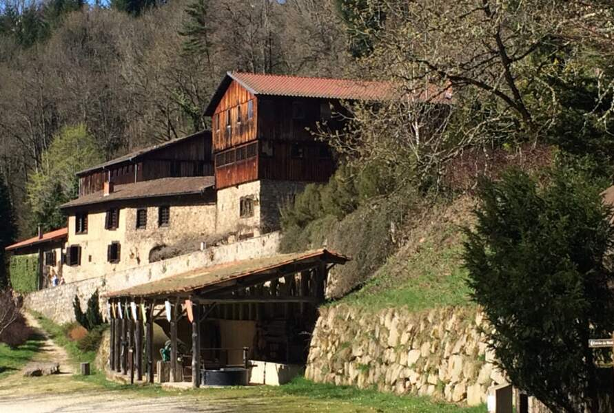 Le moulin à papier d'Ambert