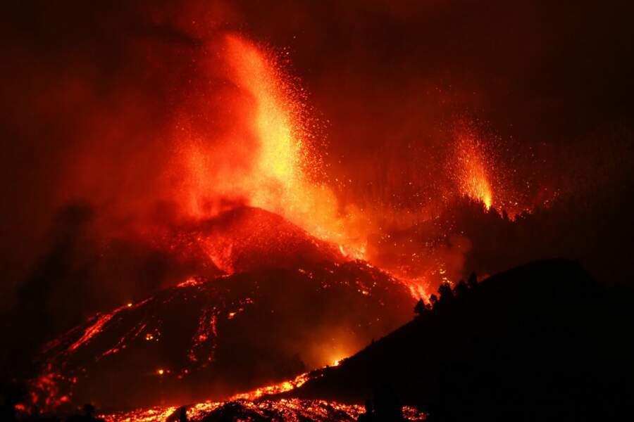 Le volcan n'était pas entré en éruption depuis 1971.