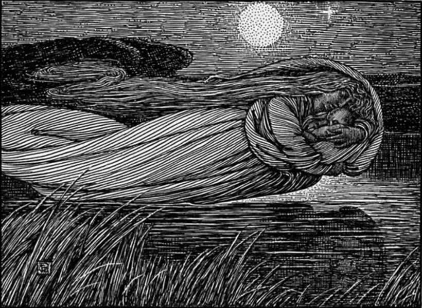 L'héroïne : Viviane, la Dame du lac