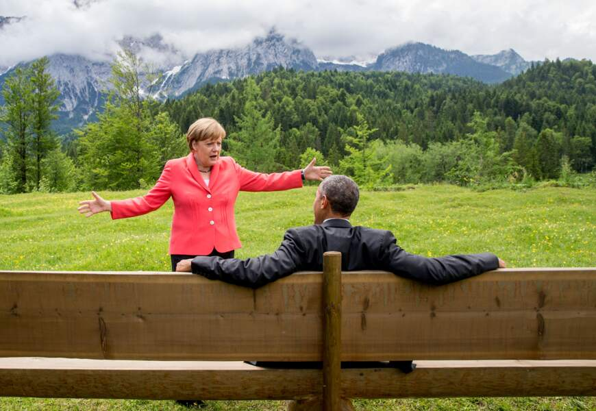 Angela Merkel et Barack Obama, une relation privilégiée
