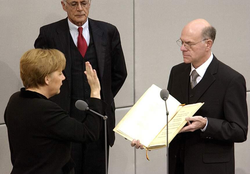Premier serment, le 22 novembre 2005