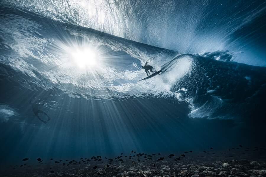 "Deuxième prix, catégorie ""Ocean Adventure Photographer of the Year """