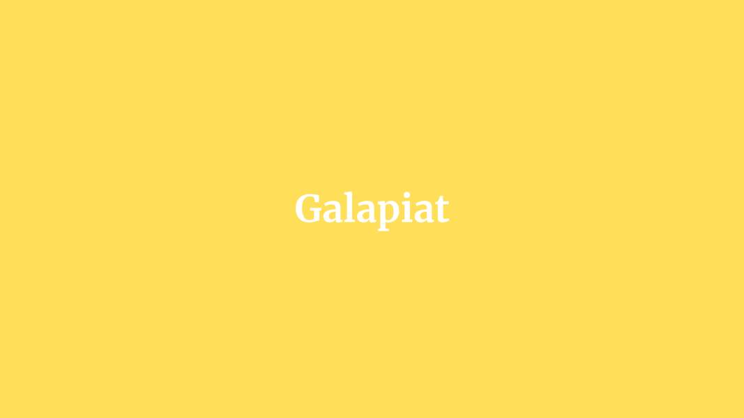 Galapiat