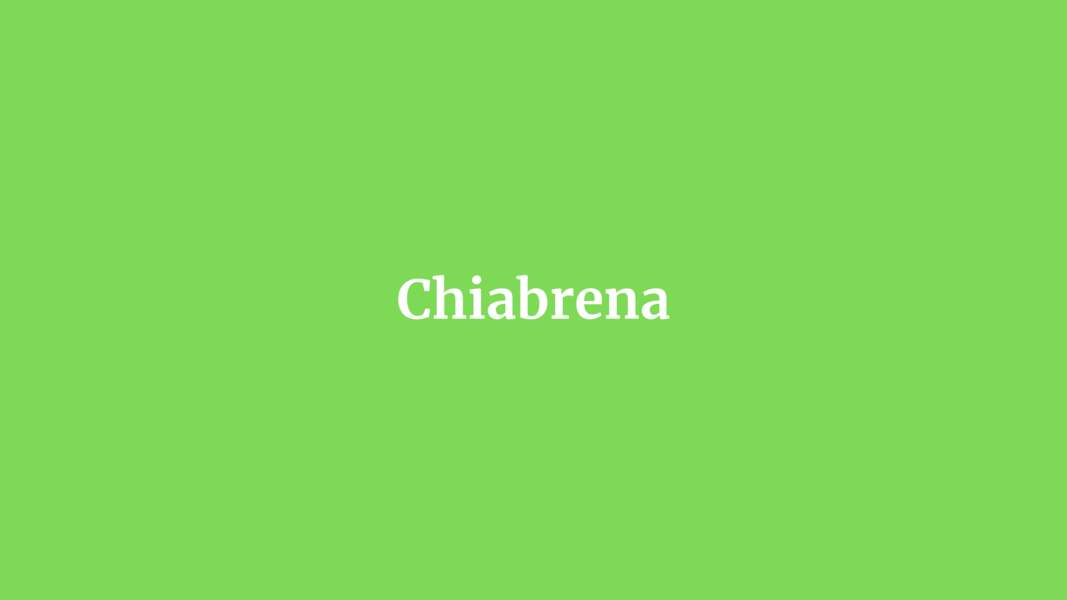 Chiabrena
