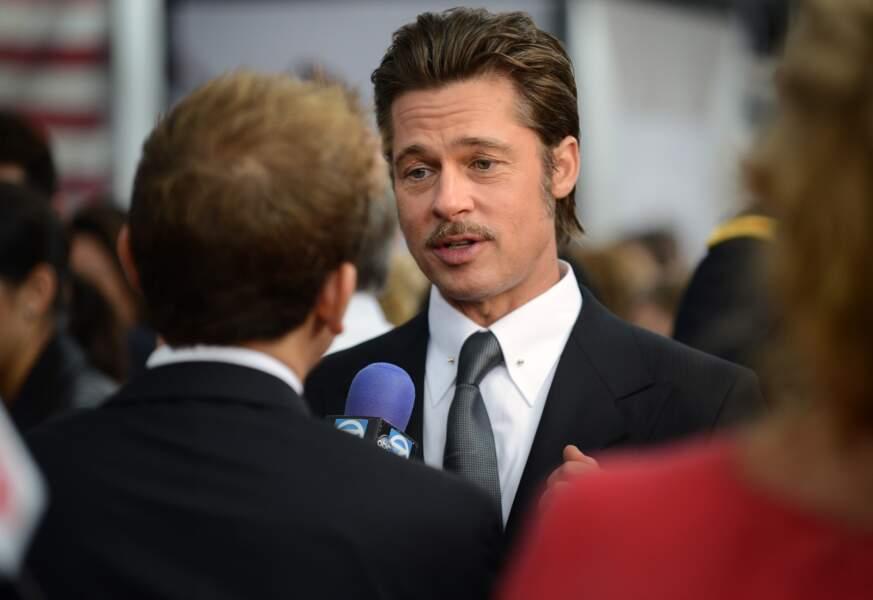 Brad Pitt a eu une éducation chrétienne et sévère