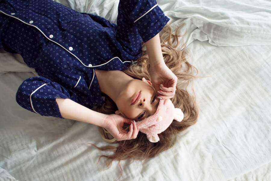 On a préféré rester en pyjama et réduire nos dépenses en textiles