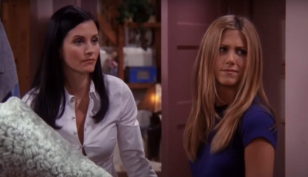Courteney Cox devait jouer le rôle de Rachel dans Friends