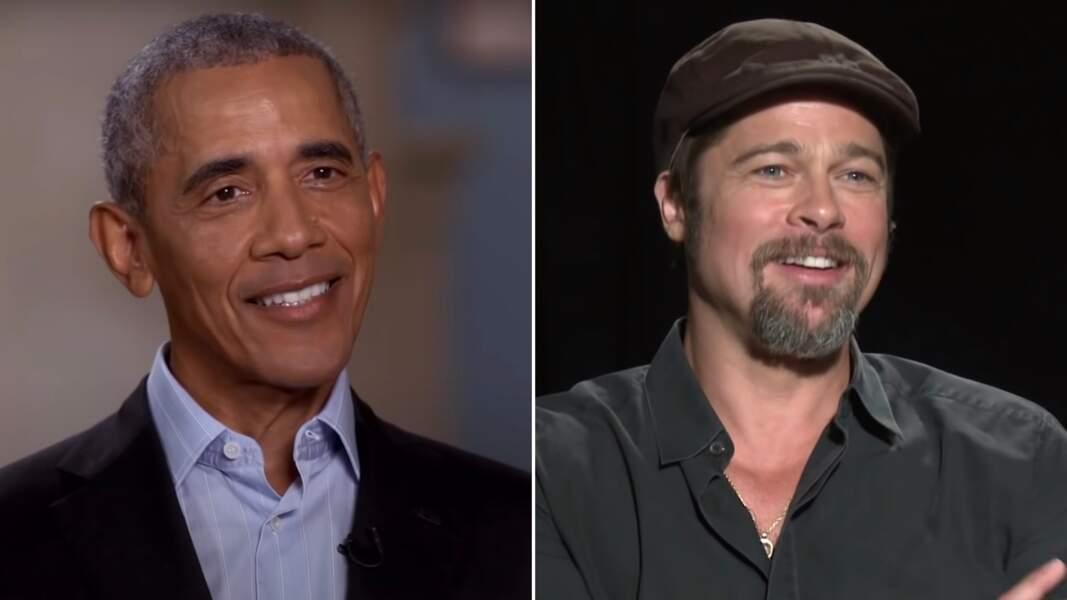 Barack Obama et Brad Pitt sont cousins (au neuvième degré)