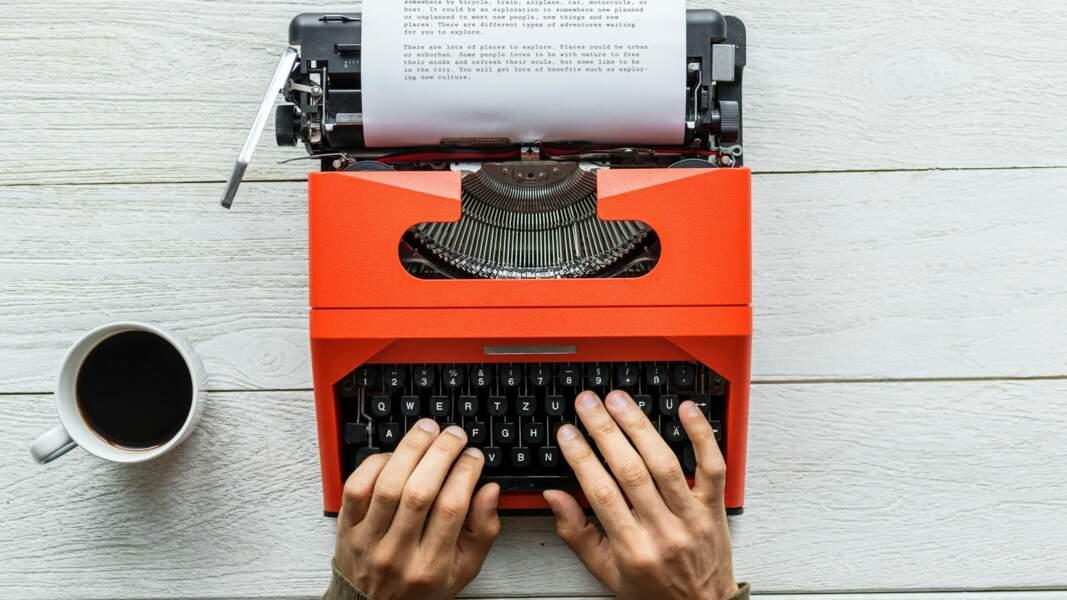 Pour écrire sans souffrir