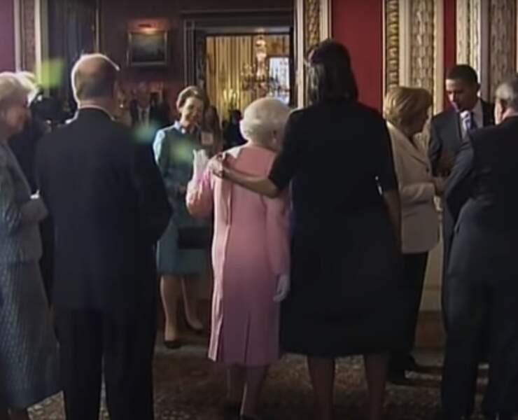 On n'a pas le droit de toucher un membre de la famille royale