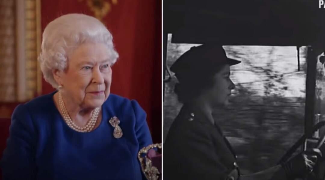 La Reine a le permis poids lourds