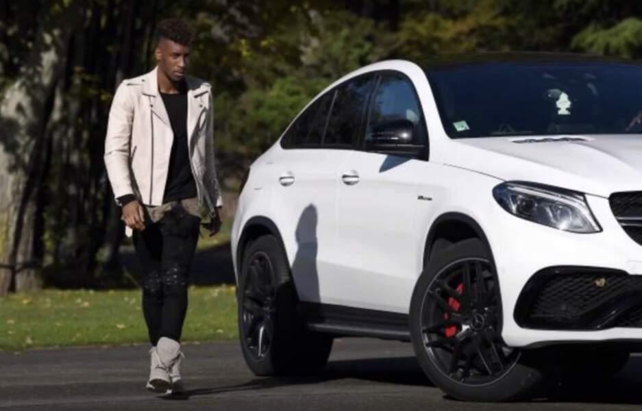 Kingsley Coman risque une très grosse amende pour avoir conduit une Mercedes