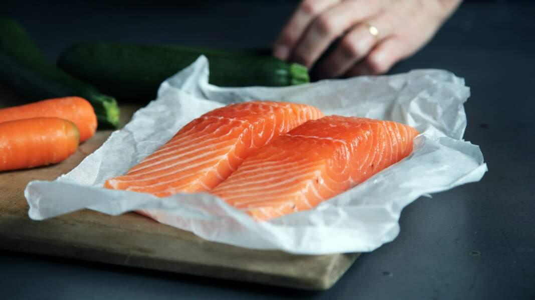 Le saumon (et les autres poissons gras)