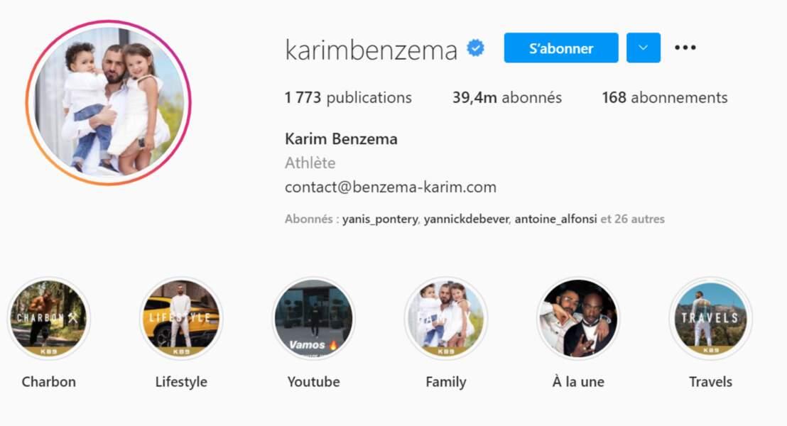 Il est suivi par 39,4 millions de personnes sur Instagram