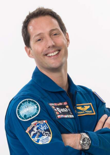 Il a parlé avec Thomas Pesquet, actuellement dans l'espace