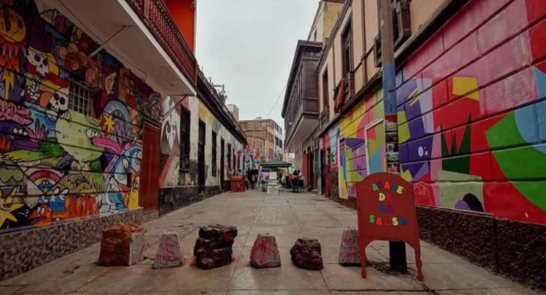 Calle José Gálvez, Lima