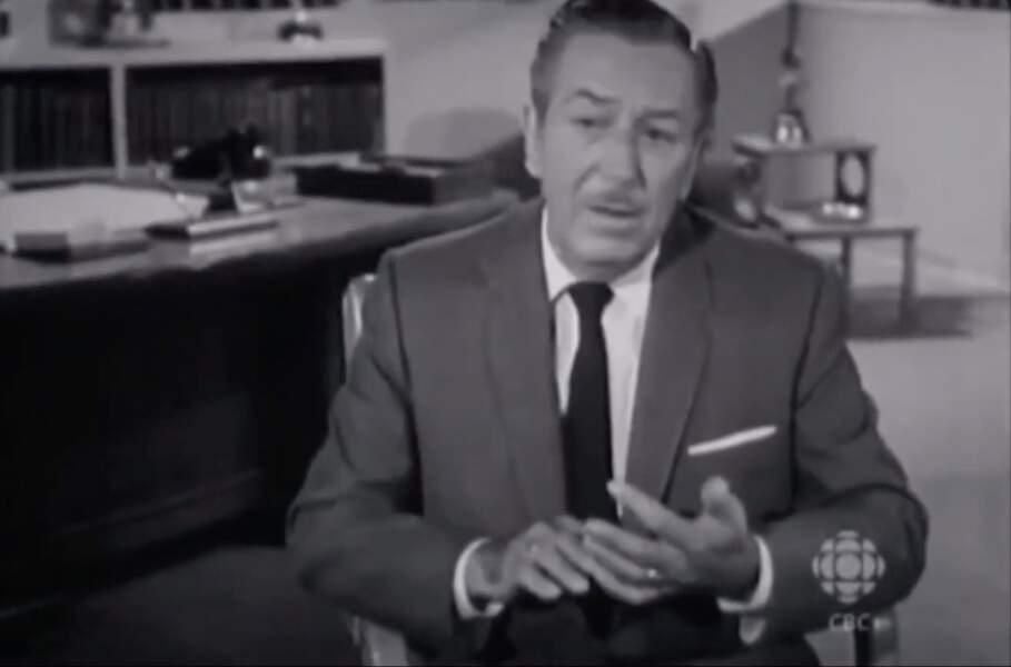 Walt Disney, le dormeur