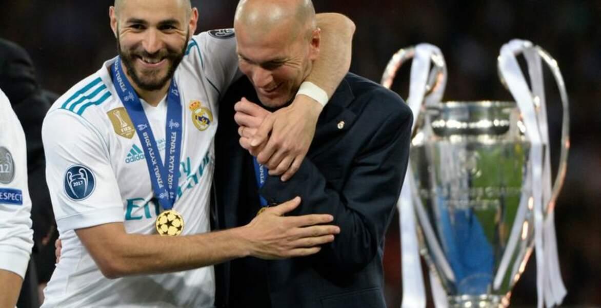 Il est le meilleur buteur français de l'histoire du Real Madrid
