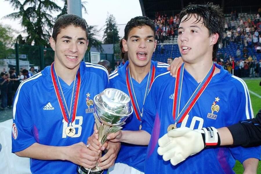 Il a fait partie de l'équipe de France des moins de 17 ans