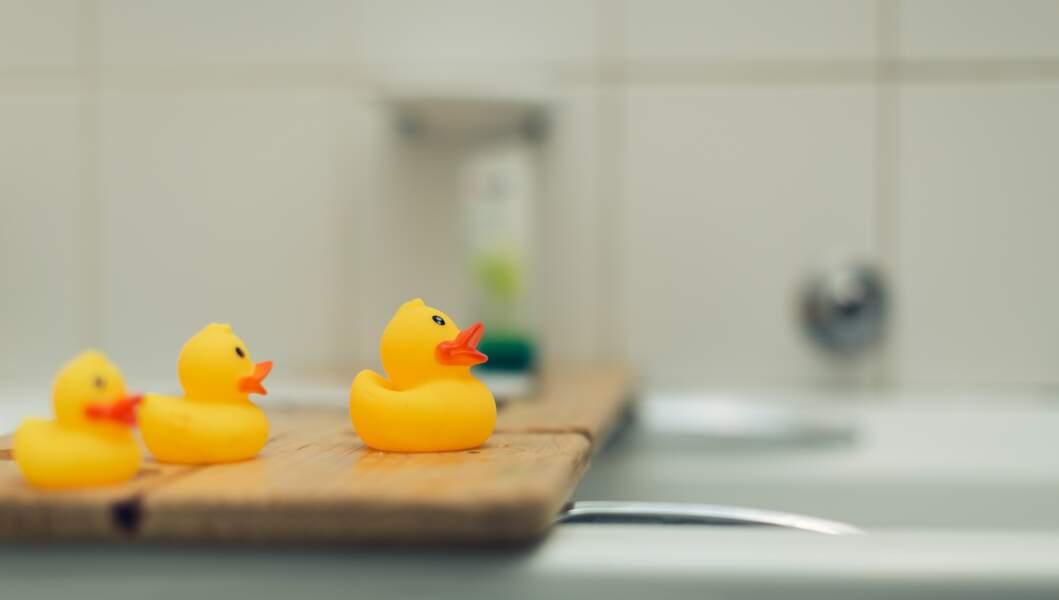 Sa Majesté aurait possédé un canard en plastique dans sa salle de bain