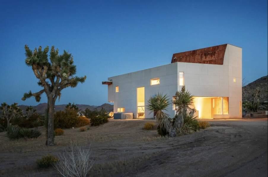 Oasis au coeur du désert californien (États-Unis)