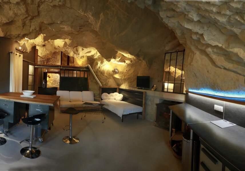 La grotte et son moulin
