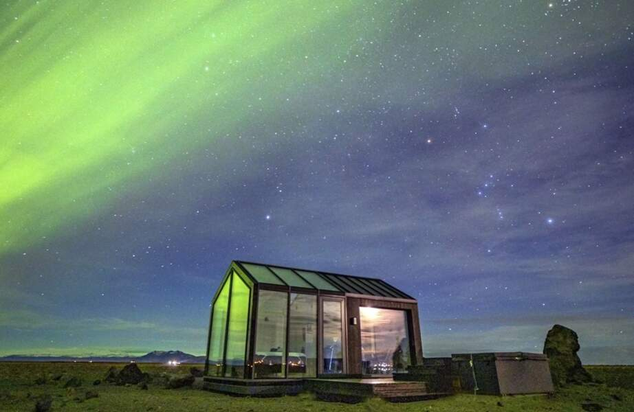 Maison vitrée (Islande)
