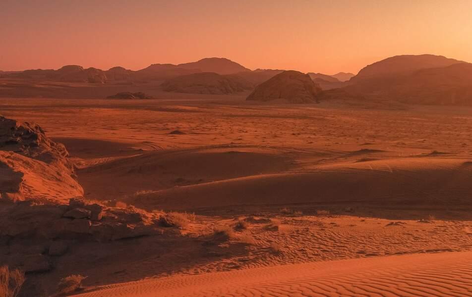 Seul sur Mars, Désert de Wadi Rum