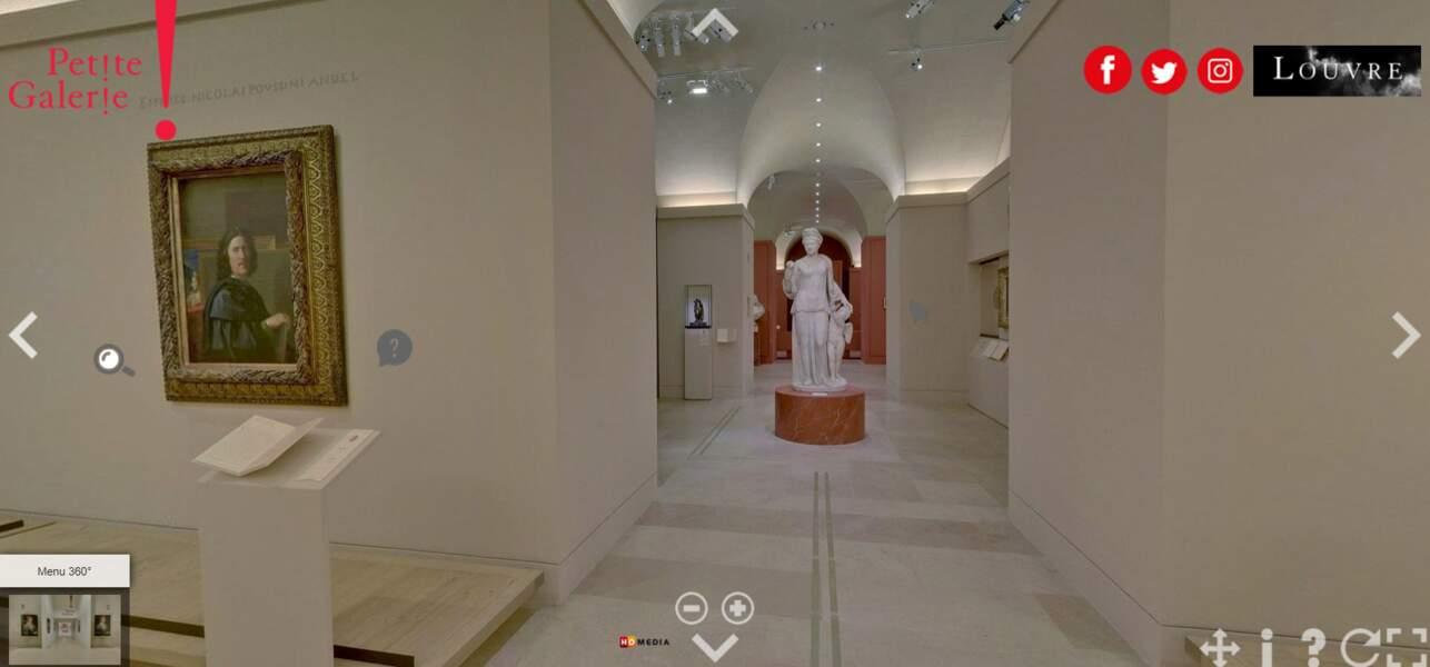 Découvrez les tableaux et sculptures du Louvre