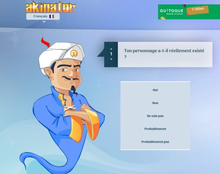 Akinator, le génie d'Internet
