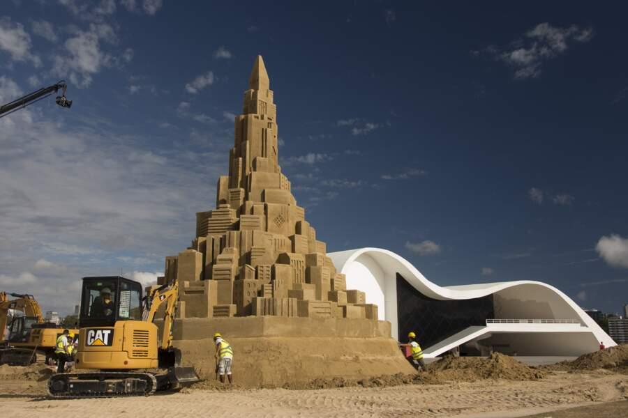 Le plus grand château de sable