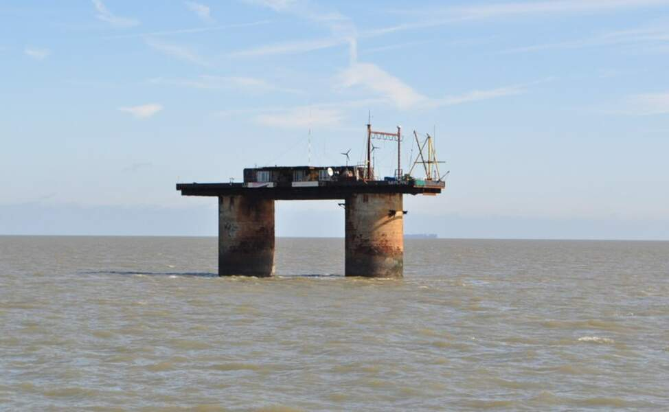 La Principauté de Sealand, juchée sur une plate-forme pétrolière